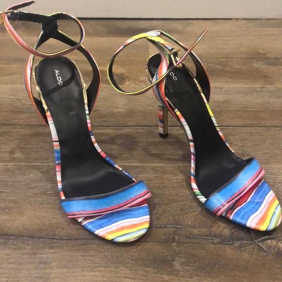 Multi coloured Sandals